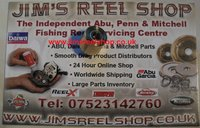 Ambassadeur conversion & tuning parts - Jim's Reel Shop