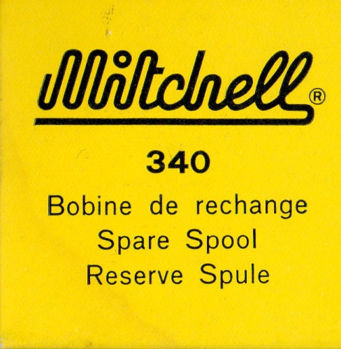MITCHELL 340 SPARE SPOOL # 09140