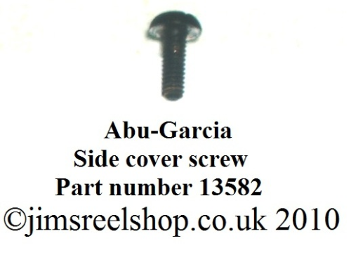 Black Side Cover Screw13582-975513