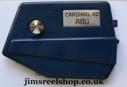 NOS, Abu-Cardinal 40, Side Cover. Part number 7004