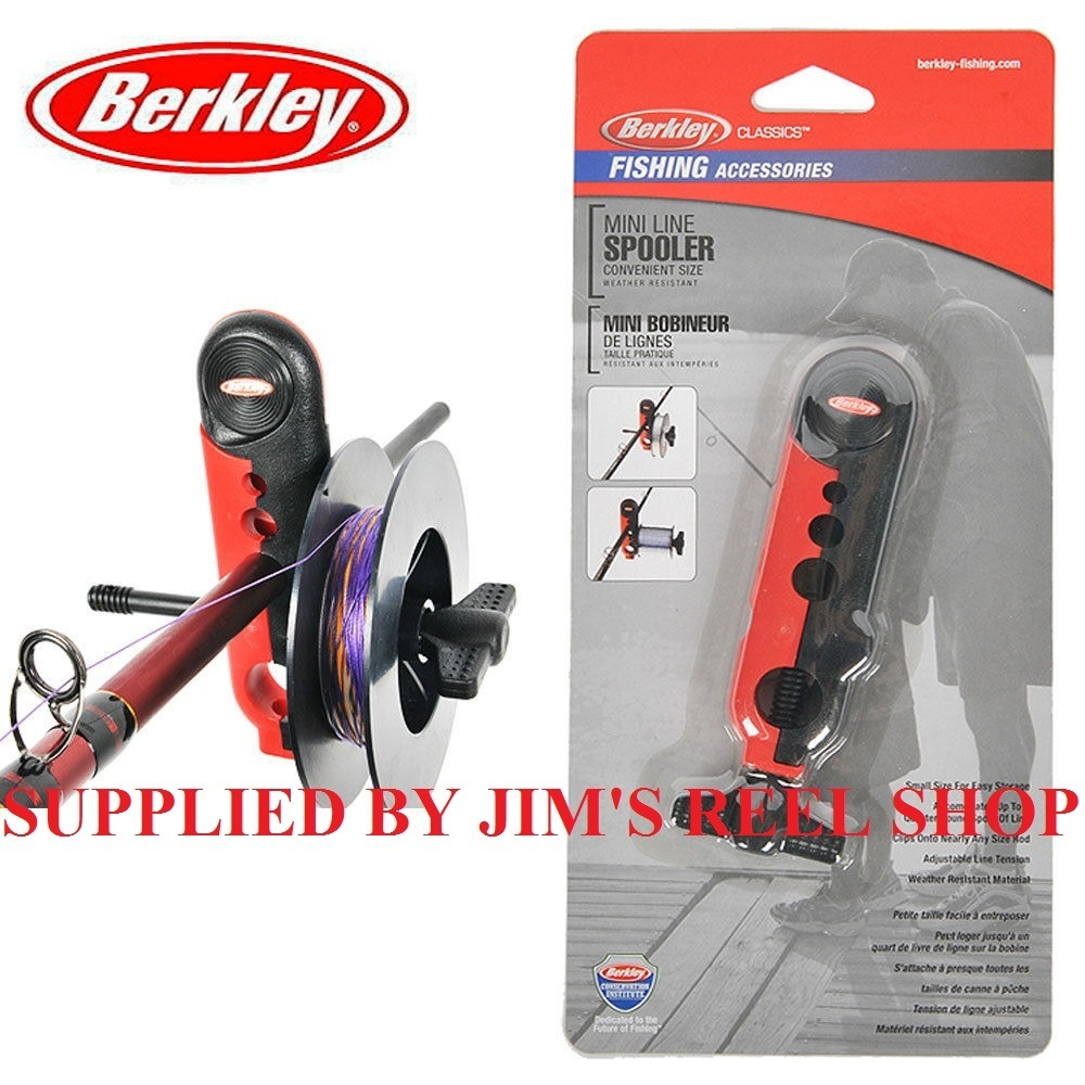 Berkley line winders - Berkley Mini Fishing Reel Line Spooler