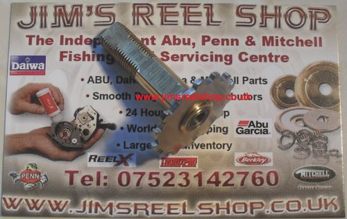 ABU AMBASSADEUR JRS HANDLE BALL BEARING BUSHING