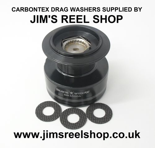 DAIWA BLACK WIDOW CARBONTEX DRAG WASHER KITS