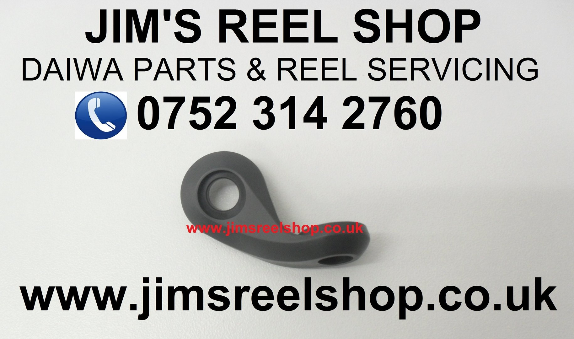 caab1c339e4 DAIWA BASIA 45KYOGOI GREY BAIL ARM #G17-8403 - Jim's Reel Shop