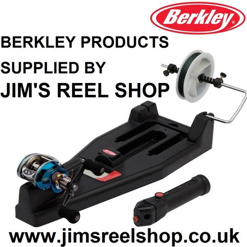 BERKLEY REEL LINE SPOOLING STATION & STRIPPER