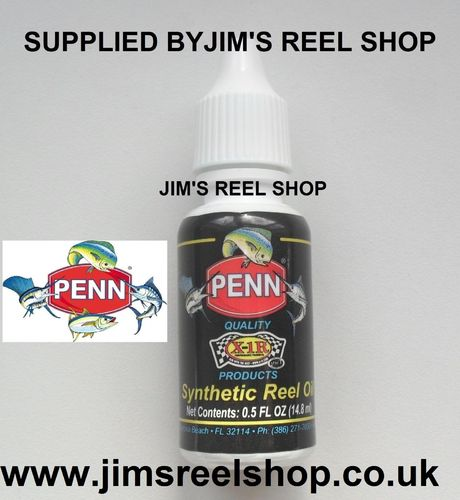 PENN X-1R SYNTHETIC REEL SERVICING OIL 14.8ML