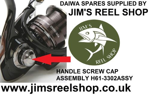 TEAM DAIWA HANDLE SCREW ASSEMBLY #H61-3302ASSY.