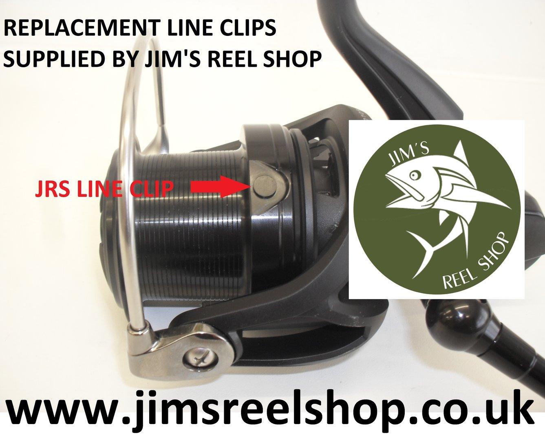 JRS CROSSCAST CARP/WINDCAST 5000QDA LINE CLIP'S