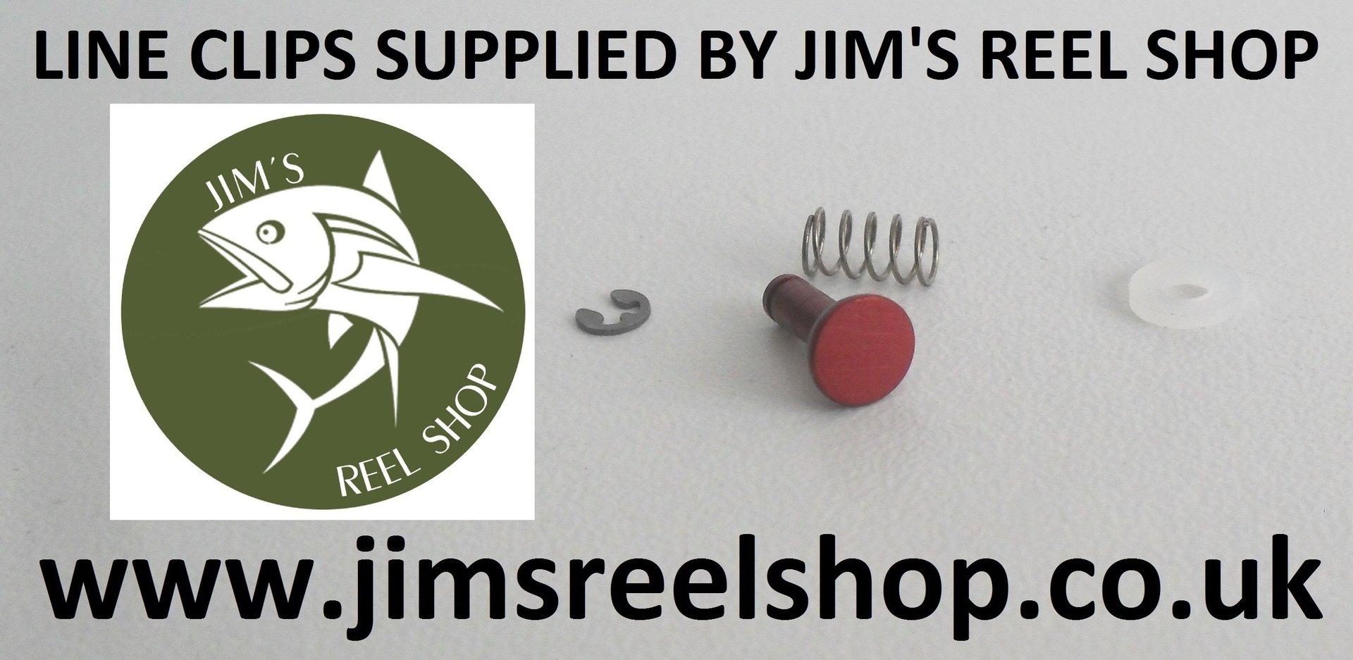 4688a3a0a57 RED LINE CLIPS 4 DAIWA EMBLEM S-H-X & LONGBEAMH - Jim's Reel Shop