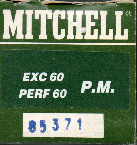 MITCHELL EXCELLENCE/PERFORMANCE 60 SPOOL #85371