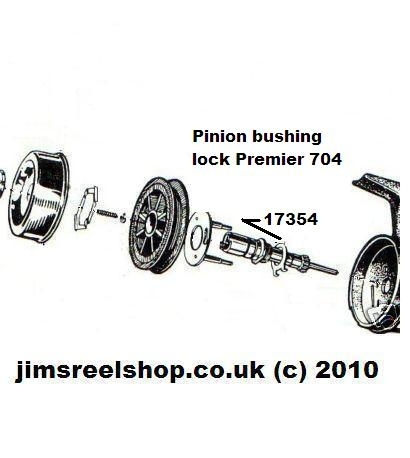 ABU 1044 PREMIER 704 PINION BUSHING LOCK WASHER
