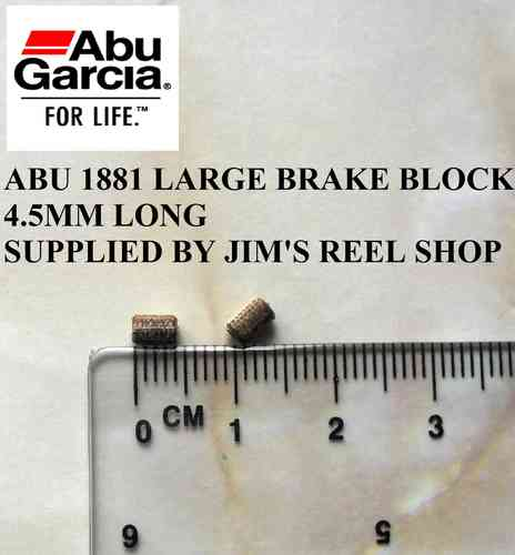 ABU AMBASSADEUR LARGE FIBRE BRAKE BLOCKS # 1881