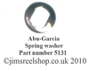 ABU AMBASSADEUR DRAG SPRING TENSION WASHER 5131