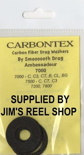 ABU AMBASSADEUR 7000/7500 CTEX DRAG WASHER KITS