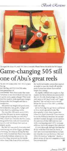 THE ABU 505 REEL GOLDEN JUBILEE HISTORY BOOK