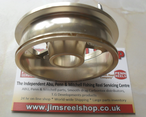 ABU 507 GOLD MAX MK2 MATCH SHALLOW CAP SPOOL