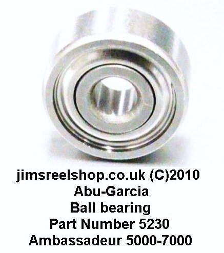 ABU AMBASSADEUR 7000 POST 1982 SS BALL BEARINGS