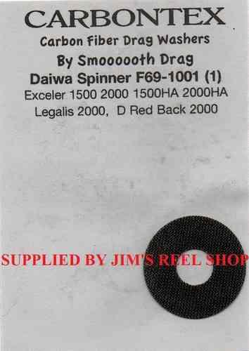 Carbontex Drag Washer Kit to fit Daiwa BG1500 2000