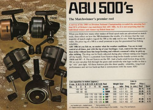 ABU 501 CLOSED FACE REEL SIDE PLATE COVER NOS