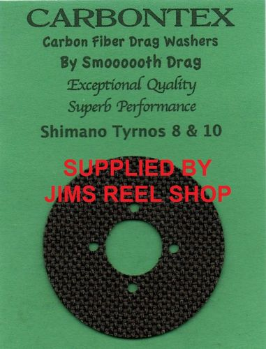 SHIMANO TYRNOS 8 & 10 CARBONTEX DRAG WASHER KIT