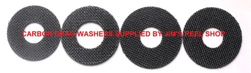 CARBON DRAG WASHERS FOR AKIOS S-LINE 656 MODELS
