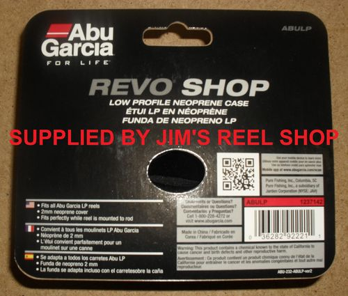 NEW ABU AMBASSADEUR REVO LOW PROFILE REEL CASES