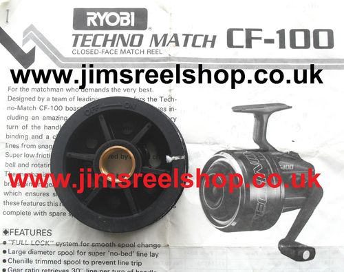 RYOBI CF-100 MATCH CLOSED FACE NOS MATCH SPOOLS