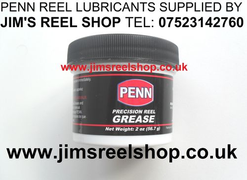 PENN PRECISION REEL GREASE 56 GRAM 2 OUNCE TUBS