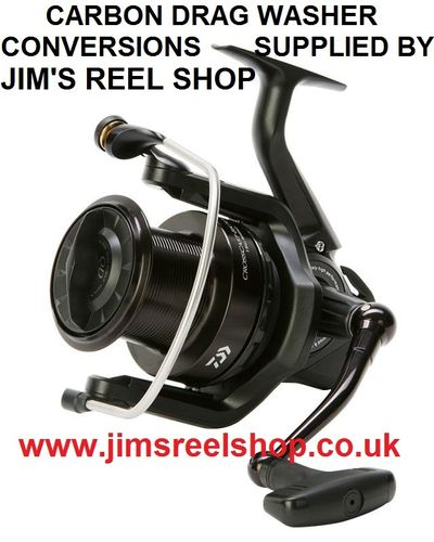 DAIWA CROSSCAST 5000/5500 BLACK ED. DRAG WASHER