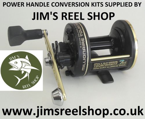 DAIWA 7HT MILLIONAIRE POWER HANDLE CONV. #KIT-2
