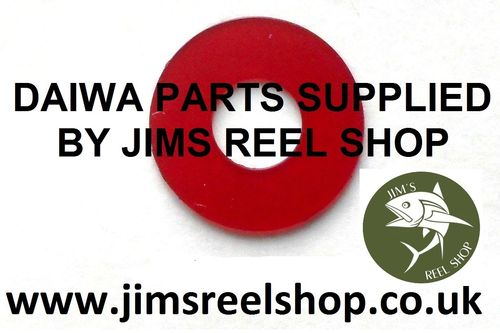 DAIWA SPOOL WASHER  RED THICK PLASTIC #E39-9203