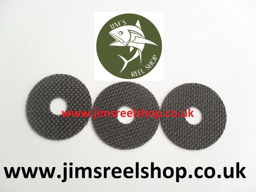 CARBONTEX DRAG WASHER KITS FOR DAIWA GS4000 LTD
