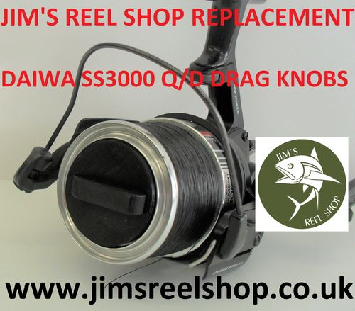 JRS DAIWA TOURNAMENT SS-3000 QUICK DRAG KNOB'S