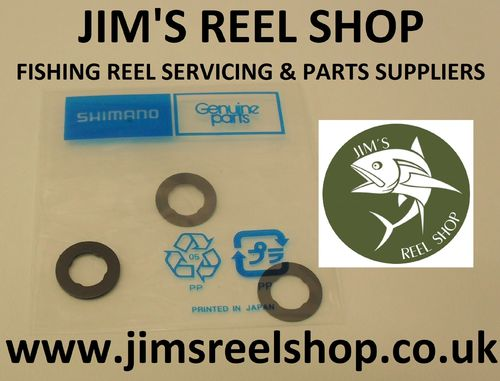 SHIMANO SPOOL WASHER SET OF THREE PART #RD8068