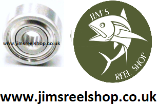 REPLACEMENT BALL BEARINGs FOR SHIMANO # BNT0194